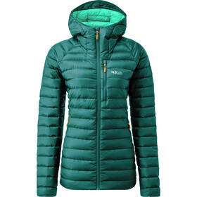 Rab Microlight Alpine Long Jacket Women, atlantis